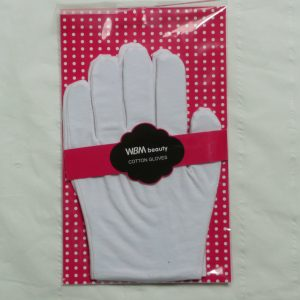 Cotton gloves for light protection or moisturising treatment (hand size 6/7)