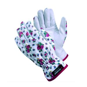 Tegera 90014 – ladies leather gardening gloves