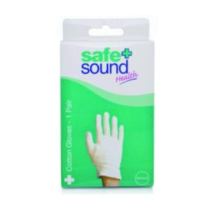 Cotton gloves for light protection or moisturising treatment (hand size 8/9)