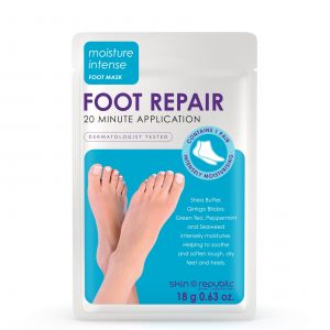 Foot Repair. 1 pair of intensely moisturising booties.
