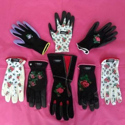 Ladies gardening gloves