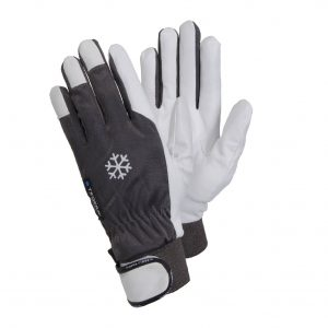 Tegera 117 thermal leather gloves – leisure activities.