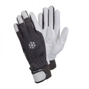 Tegera 117 – thermal leather gardening gloves.