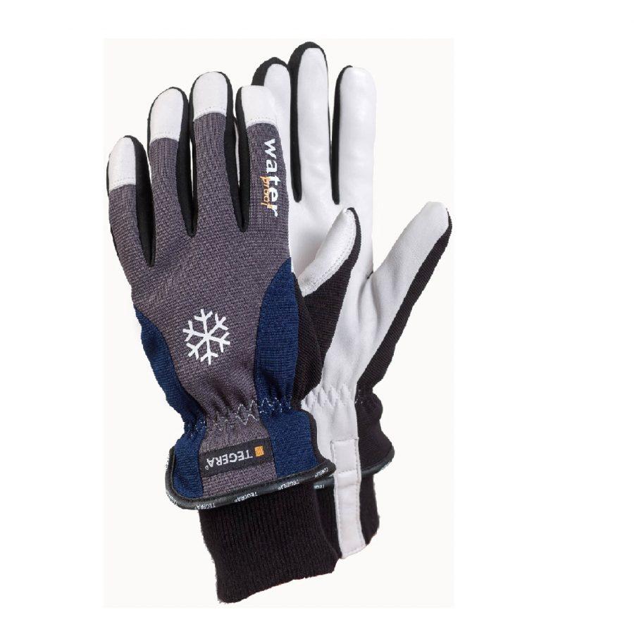 TEGERA Winter Fleece Lined Waterproof Windproof Thermal Gloves Cycling Walking