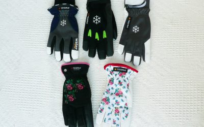 Winter gloves – thermal, waterproof and windproof gloves.