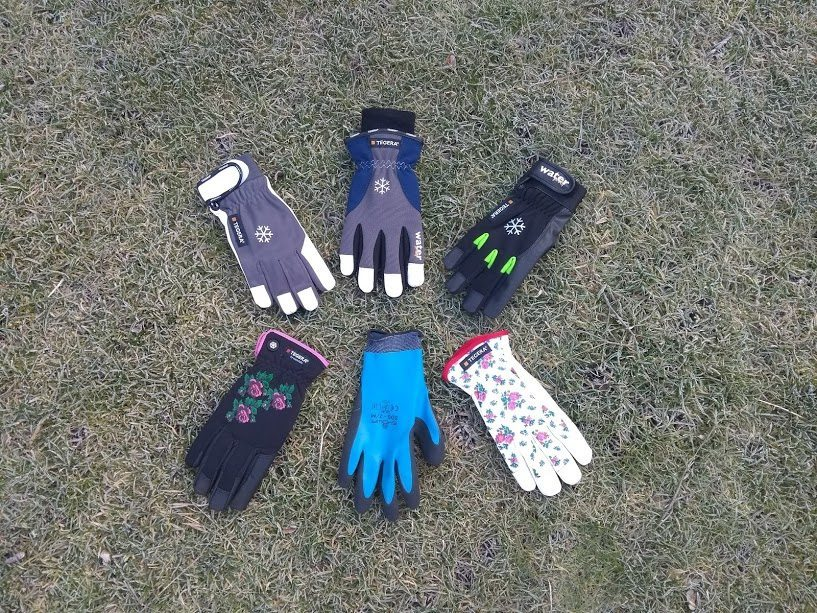 The best winter gardening gloves – Thermal, waterproof, windproof, durable & a good fit.