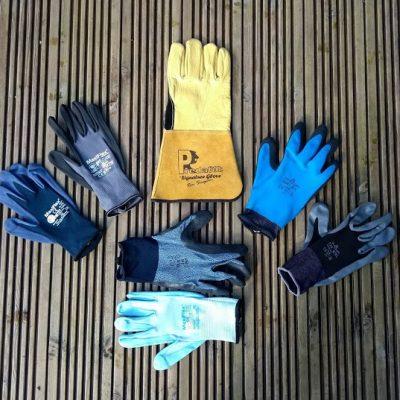 Mens gardening gloves