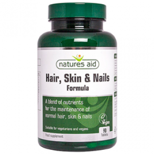 Natures Aid Hair, Skin & Nails formula – 90 tablets
