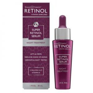 6X Retinol Super Serum. Night time skin treatment to reduce the signs of skin aging. 30 ml.